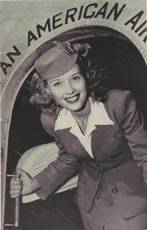 Margaret Echols, one of the first stewardesses for Pan American Airways