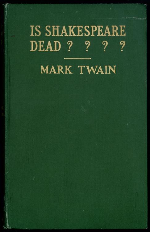 Is Shakespeare Dead????