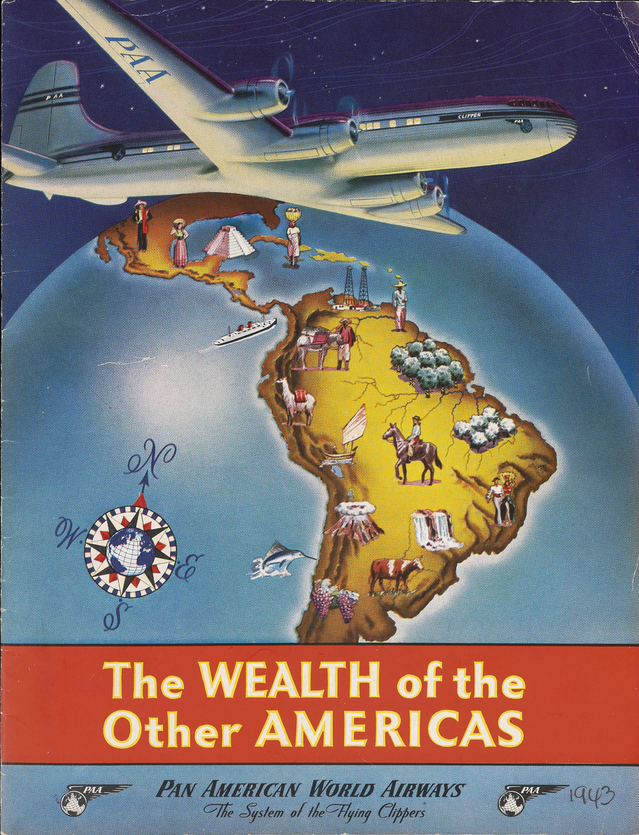 "Cover of brochure entitled ""Wealth of the Other Americas"""