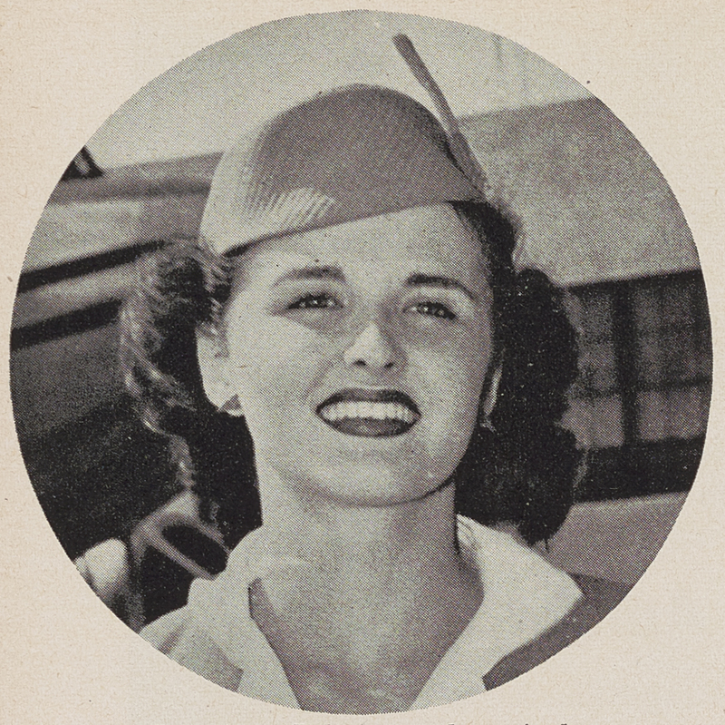 Genevieve Baker, one of the first stewardesses for Pan American Airways