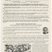 <em>Resettlement Re-Cap</em> newsletter of the Cuban Refugee Center