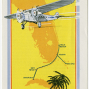 Cover of Pan American World Airways Miami to Havana Brochure