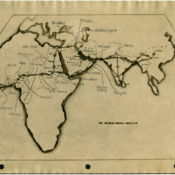 Pan American - Africa, Ltd map of trans-African serial lifeline
