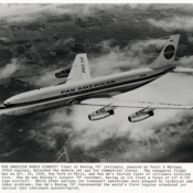 Pan American World Airways Boeing 707 jetliner