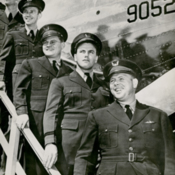 Africa Orient Division of Pan American World Airways, crew of 5,000th Atlantic crossing