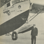 Dynamic Duo: Capt. Edwin Musick with the American Clipper
