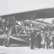 Sikorsky S-38 amphibious airplane flown by Pan American Airways