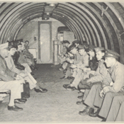 U.S. soldiers being deployed during WWII aboard Pan Am aircraft