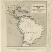Early Pan American World Airways Western Division route map with postal rates per pound of mail for various regions written in by George Rihl