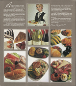 Food offered aboard Pan Am flights in 1982