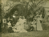 Mrs. Julia Tuttle's party, 1893