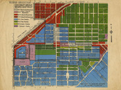 Coconut Grove Negro District Map
