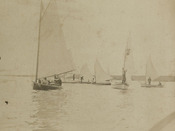 A Yacht Race on Washington's Birthday, 1887