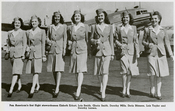Pan American World Airways' first stewardesses
